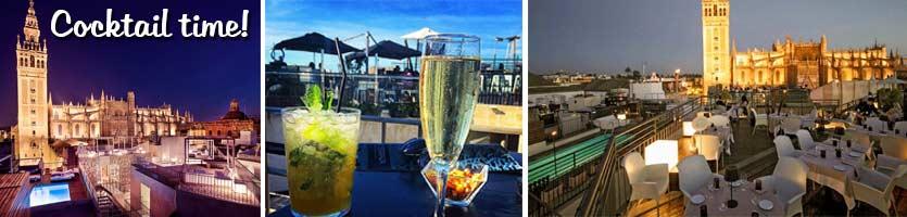 Top 5 dakterrassen stralend sevilla - Terraza hotel eme ...